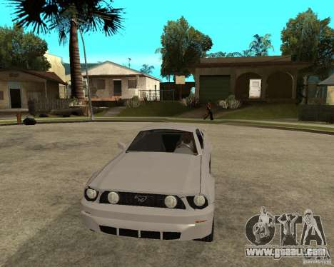 Ford Mustang GT 2005 for GTA San Andreas back view