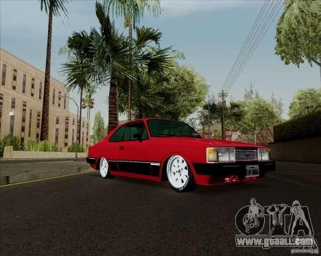 Chevrolet Opala Diplomata 1986 for GTA San Andreas back left view