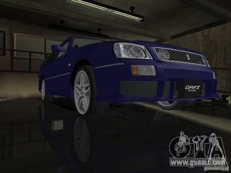 Nissan Stagea 25RS four S for GTA San Andreas back view
