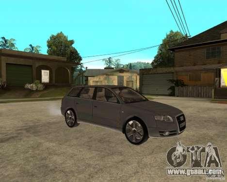 Audi A4 2005 Avant 3.2 quattro for GTA San Andreas right view