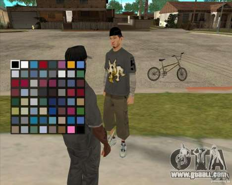 Buying a bottle of the Grove for GTA San Andreas forth screenshot