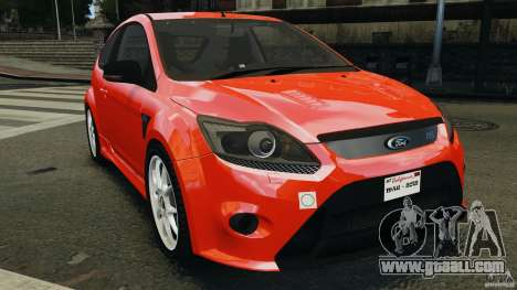 Ford Focus RS for GTA 4