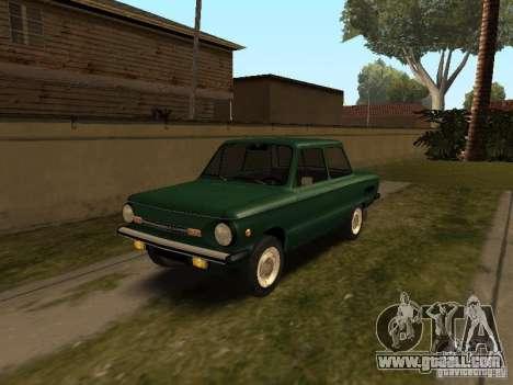 ZAZ 968 m v2 for GTA San Andreas