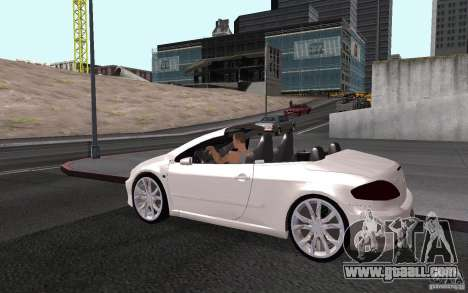 Peugeot 307CC BMS for GTA San Andreas bottom view