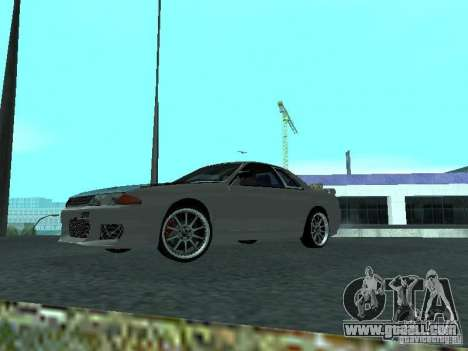 Nissan Skyline R32 Tuned for GTA San Andreas left view
