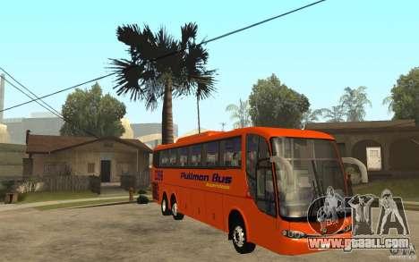 Marcopolo Paradiso 1200 Pullman Bus for GTA San Andreas back view