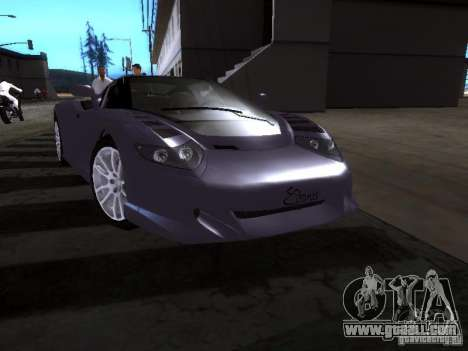 B Engineering Edonis for GTA San Andreas left view