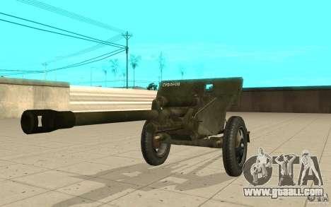 The ZiS-3 gun for GTA San Andreas