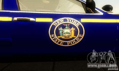 Ford Crown Victoria New York Police for GTA San Andreas back view