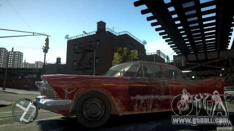 Plymouth Savoy Club Sedan 1957 for GTA 4 left view