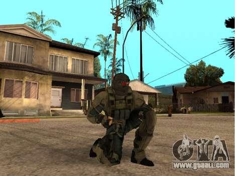 The skin army engineer for GTA San Andreas forth screenshot