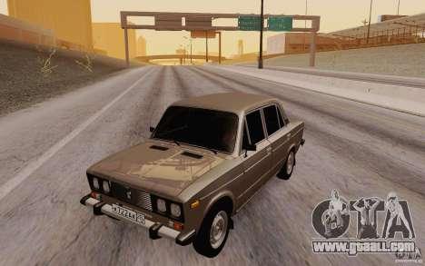 VAZ 2106 Drain for GTA San Andreas
