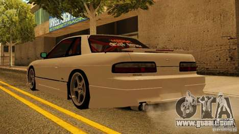 Nissan Silvia S13 MyGame Drift Team for GTA San Andreas back left view
