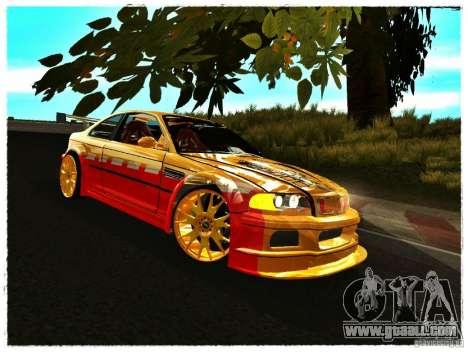 BMW M3 Calibri-Ace for GTA San Andreas