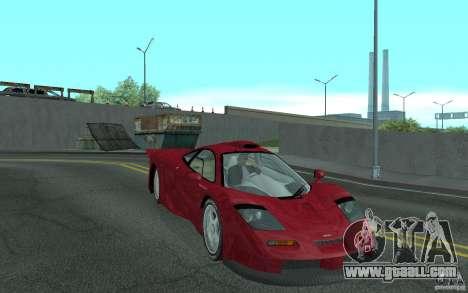 Mclaren F1 GT (v1.0.0) for GTA San Andreas back view