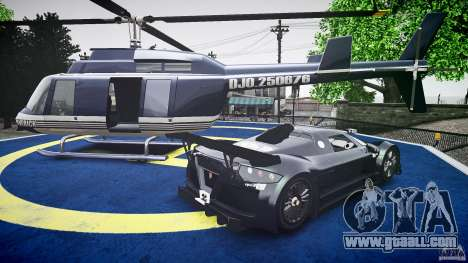 Gumpert Apollo Sport v1 2010 for GTA 4 upper view