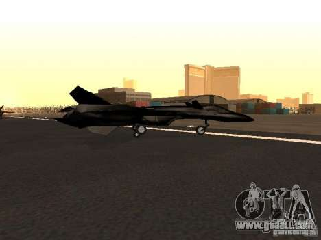 Y-f19 macross fighter for GTA San Andreas