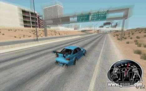 Speedometer v2 for GTA San Andreas second screenshot
