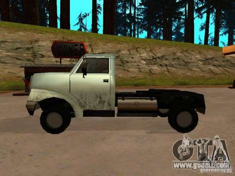 Yankee Truck for GTA San Andreas right view
