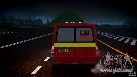 Ford Transit Polski uslugi elektryczne [ELS] for GTA 4 interior