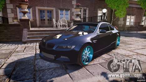 BMW E92 for GTA 4 engine
