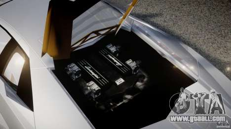 Lamborghini Reventon v2 for GTA 4 upper view