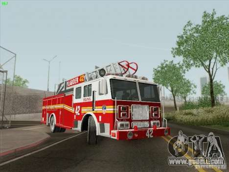 Seagrave Ladder 42 for GTA San Andreas upper view