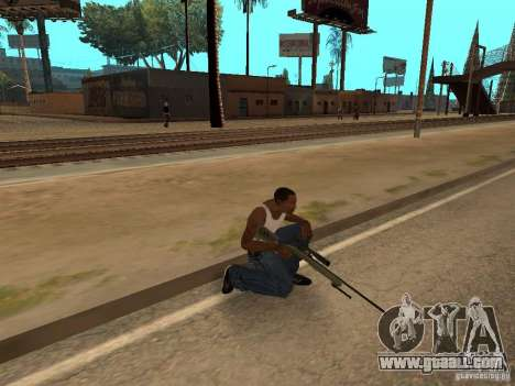 M40A3 for GTA San Andreas forth screenshot