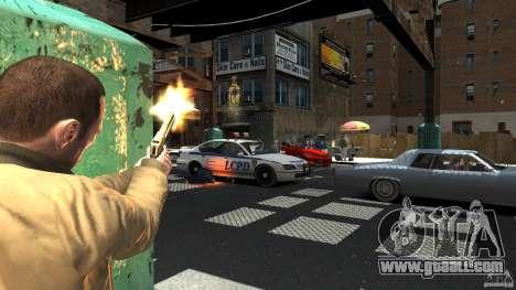 Gold Desert Eagle for GTA 4 second screenshot