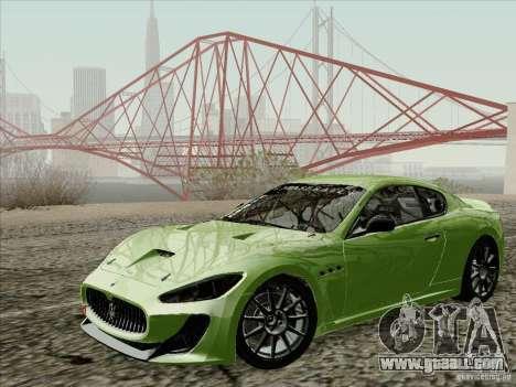 Maserati GranTurismo MC 2009 for GTA San Andreas