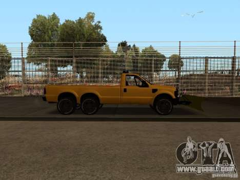Ford Super Duty F-series for GTA San Andreas right view