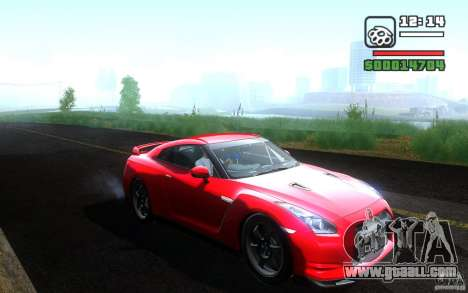 Nissan GTR R35 Spec-V 2010 for GTA San Andreas