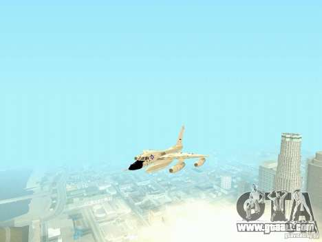 B-58 Hustler for GTA San Andreas back view