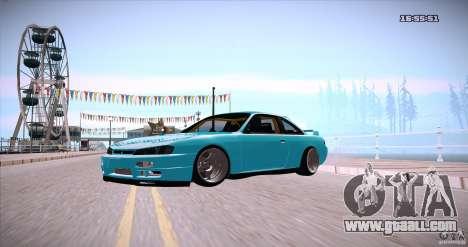 Nissan Silvia S14 JDM WAY for GTA San Andreas right view