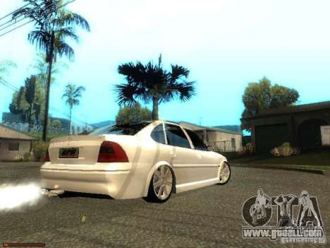 Chevrolet Vectra CD 2.2 16V 2003 for GTA San Andreas back left view