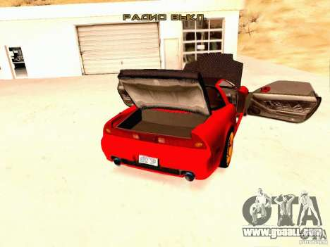 Acura NSX Stance Works for GTA San Andreas back view