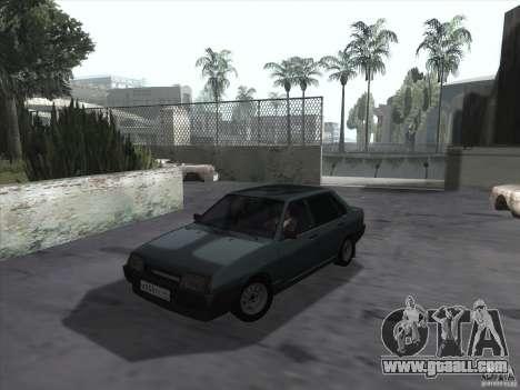 Vaz 21099 drain for GTA San Andreas