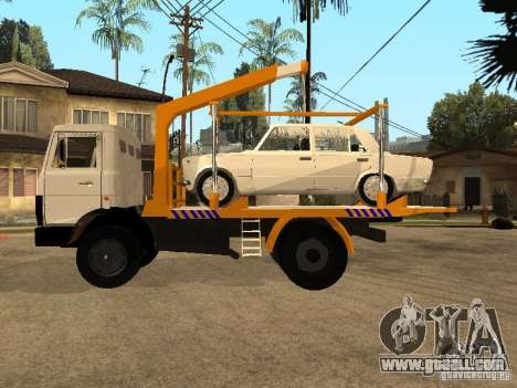 MAZ 54323 TOW TRUCK for GTA San Andreas left view