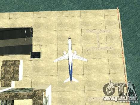 Embraer E-190 for GTA San Andreas inner view