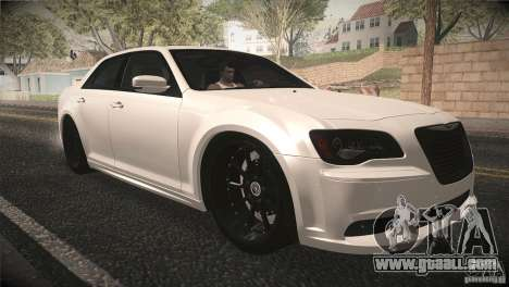 Chrysler 300 SRT8 2012 for GTA San Andreas side view