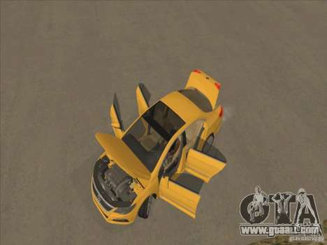 Volkswagen Passat CC for GTA San Andreas upper view