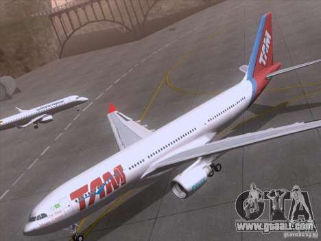 Airbus A330-223 TAM Airlines for GTA San Andreas side view
