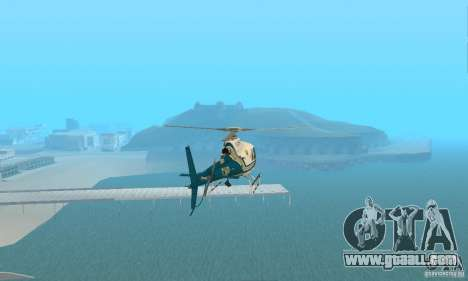 AS350 Ecureuil for GTA San Andreas right view