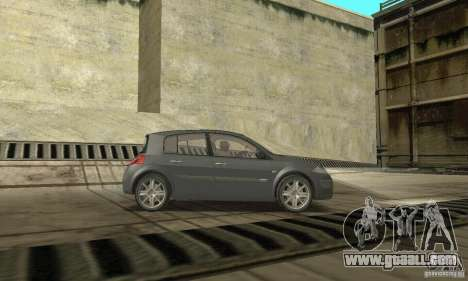 Renault Megane II 2005 for GTA San Andreas right view