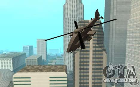 MQ Drone from BO2 for GTA San Andreas back left view