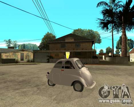 BMW Isetta for GTA San Andreas right view