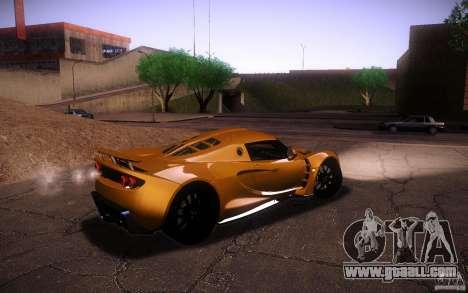 Hennessey Venom GT 2010 V1.0 for GTA San Andreas inner view
