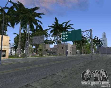 Road signs v1.1 for GTA San Andreas sixth screenshot