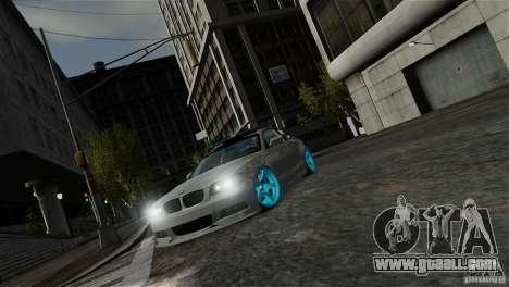 BMW 135i HellaFush for GTA 4 inner view