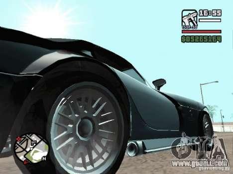 Banshee from GTA IV for GTA San Andreas right view